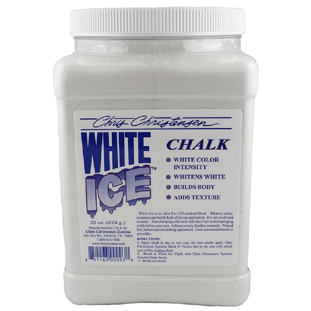 Chris Christensen White Ice Chalk 22oz by Chris Christensen