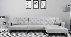 Danxee Sofa Bed Set Sectional Sofa