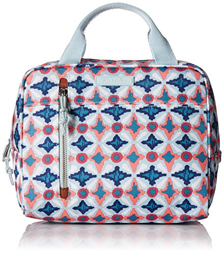 Vera Bradley Lighten Up Lunch Cooler, Polyester, Water -