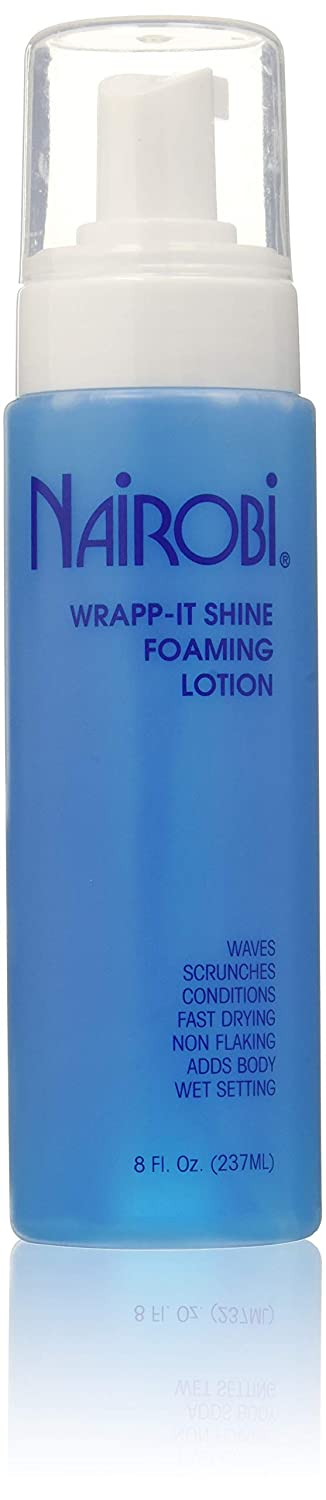 Wrapp-It Shine Foaming Lotion by Nairobi for Unisex - 8 oz Lotion NWS8
