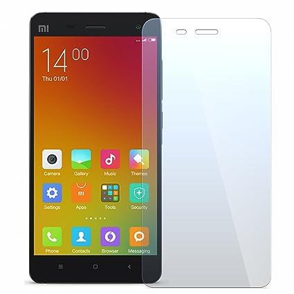 NEVEQ Cristal Templado Protector de Pantalla para Xiaomi Mi 4 Vidrio Templado, el Xiaomi Mi 4 (5.0 in) Pulgadas Piel Protectora de la Cubierta.