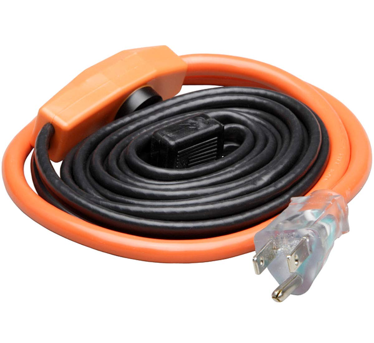 PHOENIX CABLES USA Pro Cold Weather Valve and Water Pipe Heating Cable/Multi-use for rigid plastic or metal pipes, preventing RV hose freezing or down a gutter downspout (3 Feet)