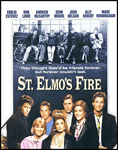 St Elmos Fire FRIDGE MAGNET Rob Lowe 3.5 x 5 Movie Poster Magnetic Canvas Print
