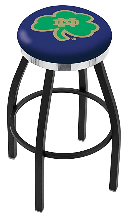 buy popular 3b48f 57b2d Amazon.com : Notre Dame Fighting Irish Flat Ring Bar Stool ...