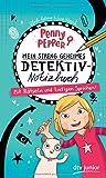 Penny Pepper – Mein streng geheimes Detektiv-Notizbuch: Mit Rätseln und lustigen Sprüchen