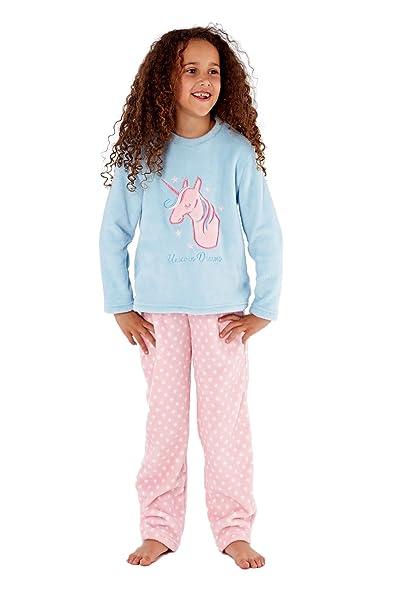 6823e09137 Selena Secrets - Pijama - para niña Unicorn Top 13 años  Amazon.es ...
