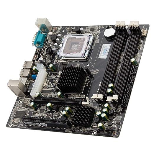 P45 DDR2 Pci-E Ordenador Tarjeta Madre, Alta Velocidad Home ...