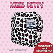 SoftBums Omni Shell with Hook and Loop, Miss Kitty