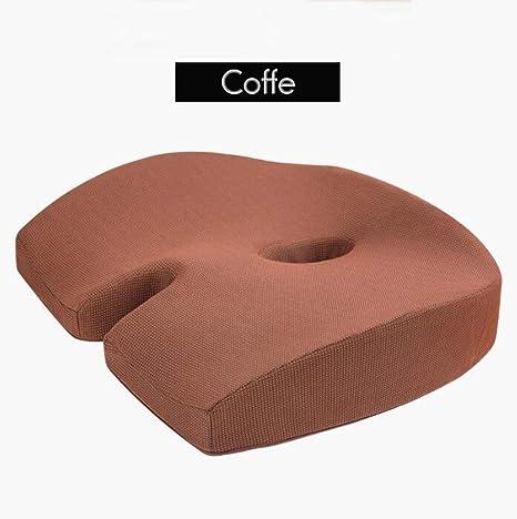 Amazon.com: Cojín de espuma viscoelástica para asiento de ...