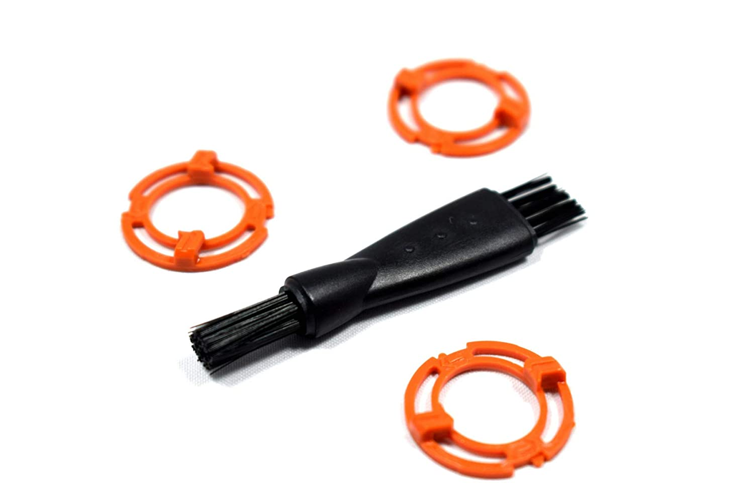 Stellate SH90 Philips Norelco Replacement Rings Blade Holder – Orange Rings Compatible With Norelco 9000 Norelco Series 8000 Philips Norelco Aquatec Replacement Rings RQ12