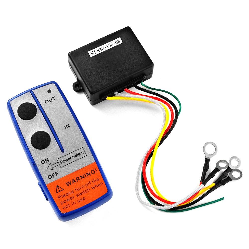 XCSOURCE Heavy Duty 12V Wireless Electric Winch + Remote Control Switch Handset for UTV Car JEEP ATV SUV Truck BI569 by XCSOURCE (Image #3)