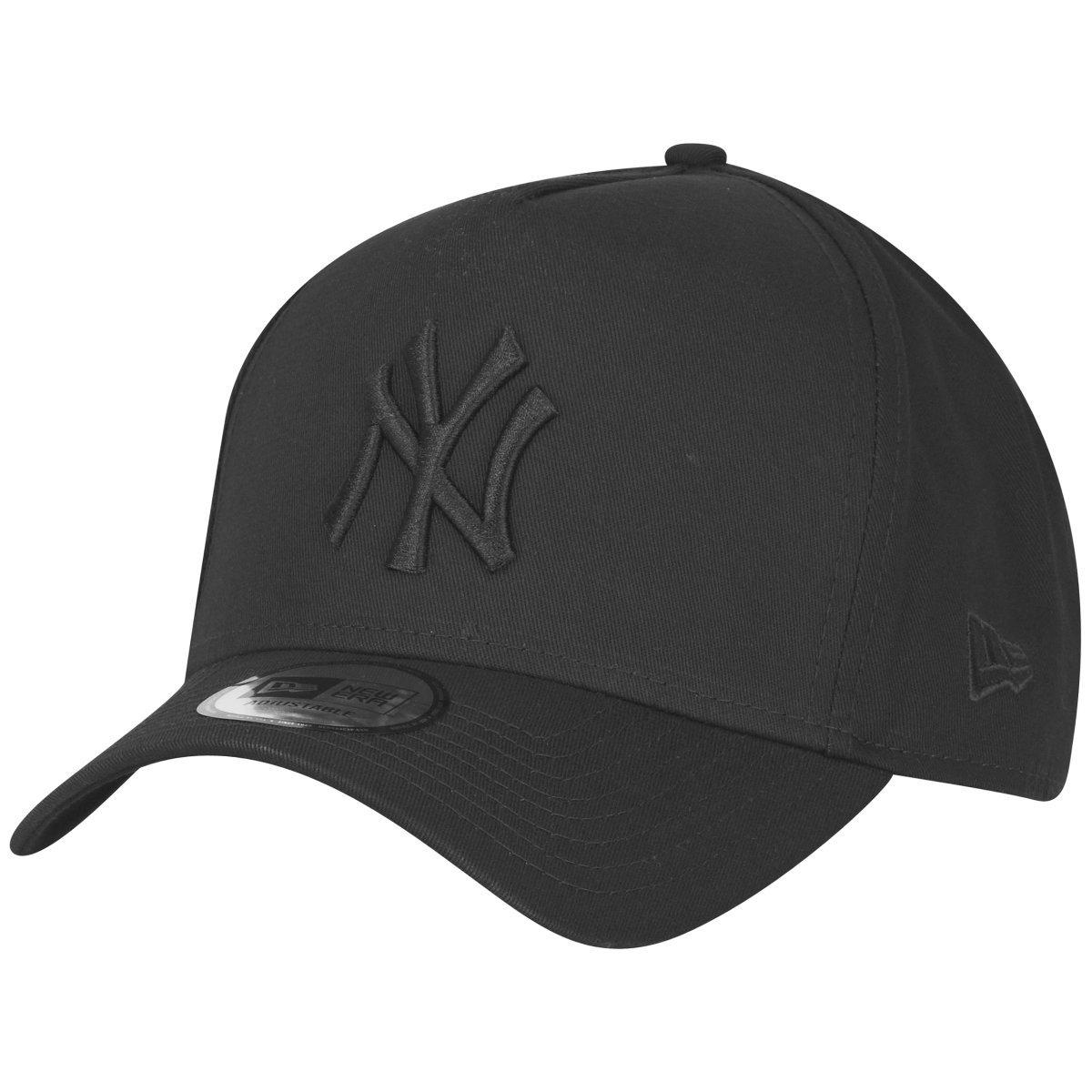f80f5c88 New Era A-Frame Trucker Cap - New York Yankees black: Amazon.co.uk: Clothing
