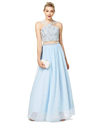 f06566fa969064 Say Yes to the Prom Juniors' 2-Pc. Embellished Crop Top & Skirt (11 ...