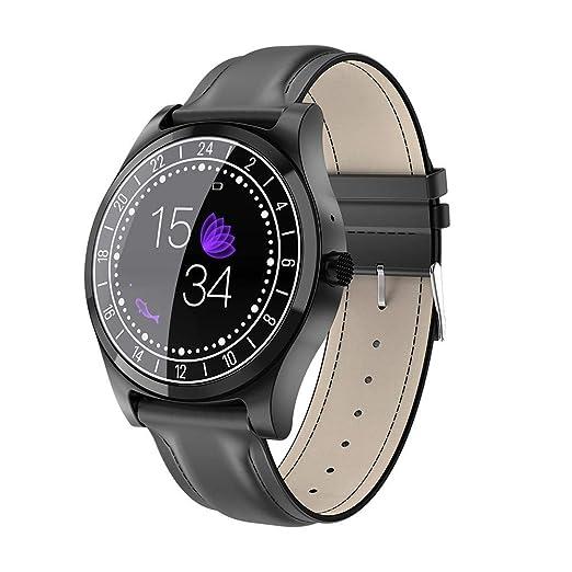 Montre Connectée, Montre Intelligente Etanche, Bluetooth Smartwatch, Montre Sport Carte,Support Smart