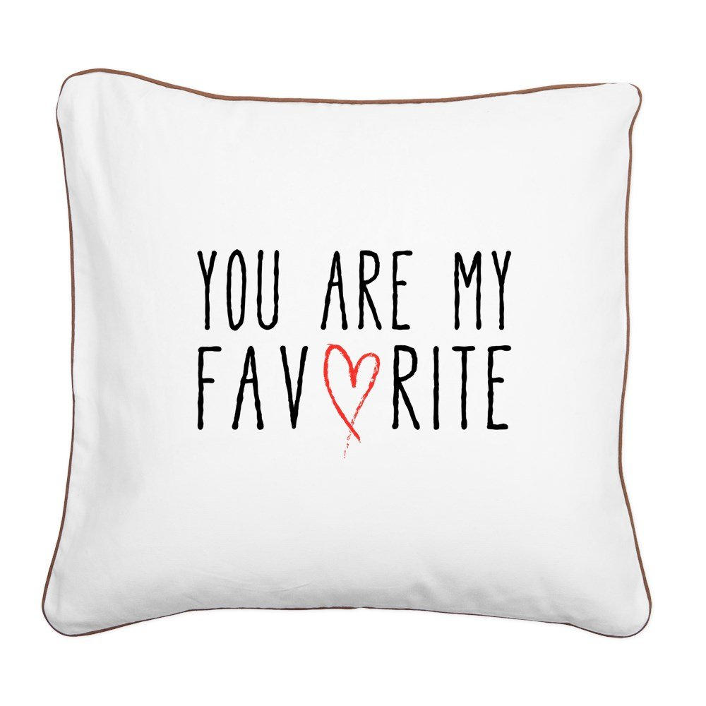 CafePress – You Are My Favorite withレッドハートスクエアキャンバスP – 20
