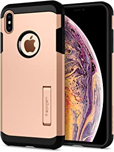 Spigen Tough Armor Designed for iPhone Xs MAX Case (2018) - Blush Gold