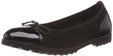 60986d18890e Gabor Shoes Damen Jollys Geschlossene Ballerinas, (Schwarz 17), 35 EU