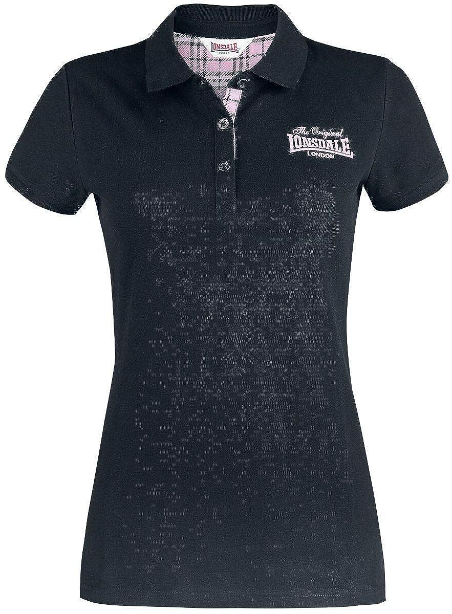 TALLA XS. Lonsdale Women Polo Shirt Loxhill