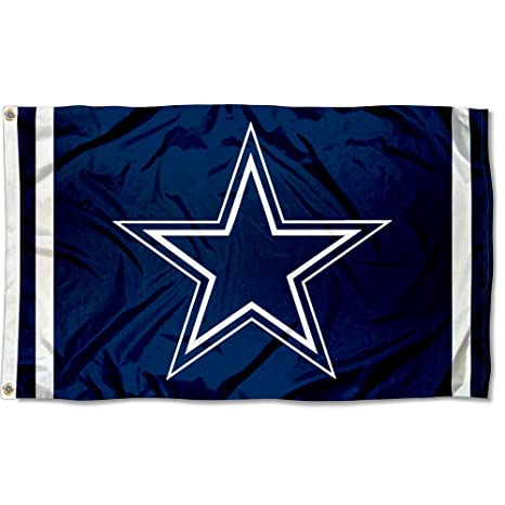 amazon com wincraft dallas cowboys large nfl 3x5 flag sports fan