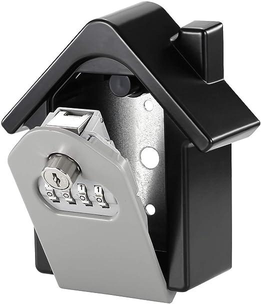 Xiong Xu Cajas Fuertes , Keybox Lock Key Safe Box Combinación de ...