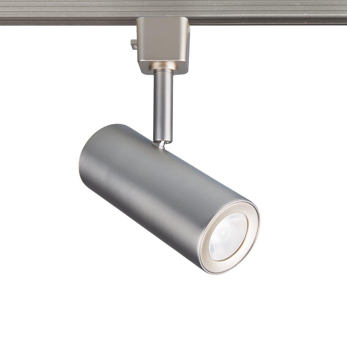 WAC Lighting J-2010-930-BN Silo J Series LED2010 X 10 Track Head Finish, 90+CRI and 3000K, 10 Watts, Brushed Nickel