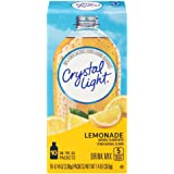 Crystal Light Drink Mix, Lemonade, On The Go Packets, 10 Count (Pack of 12 Boxes)