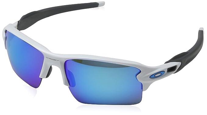 Oakley Flak 2.0 918894 59, Gafas de Sol para Hombre, Blanco (Polished White