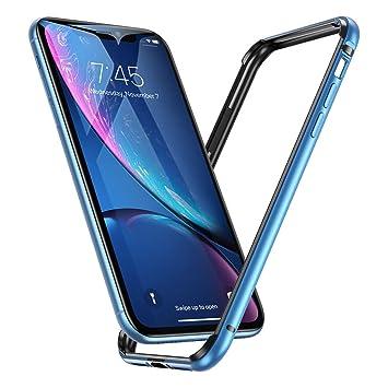 8af943b3a1 Amazon | ESR iPhone XR ケース バンパー 6.1インチ [アルミ+シリコン 二 ...