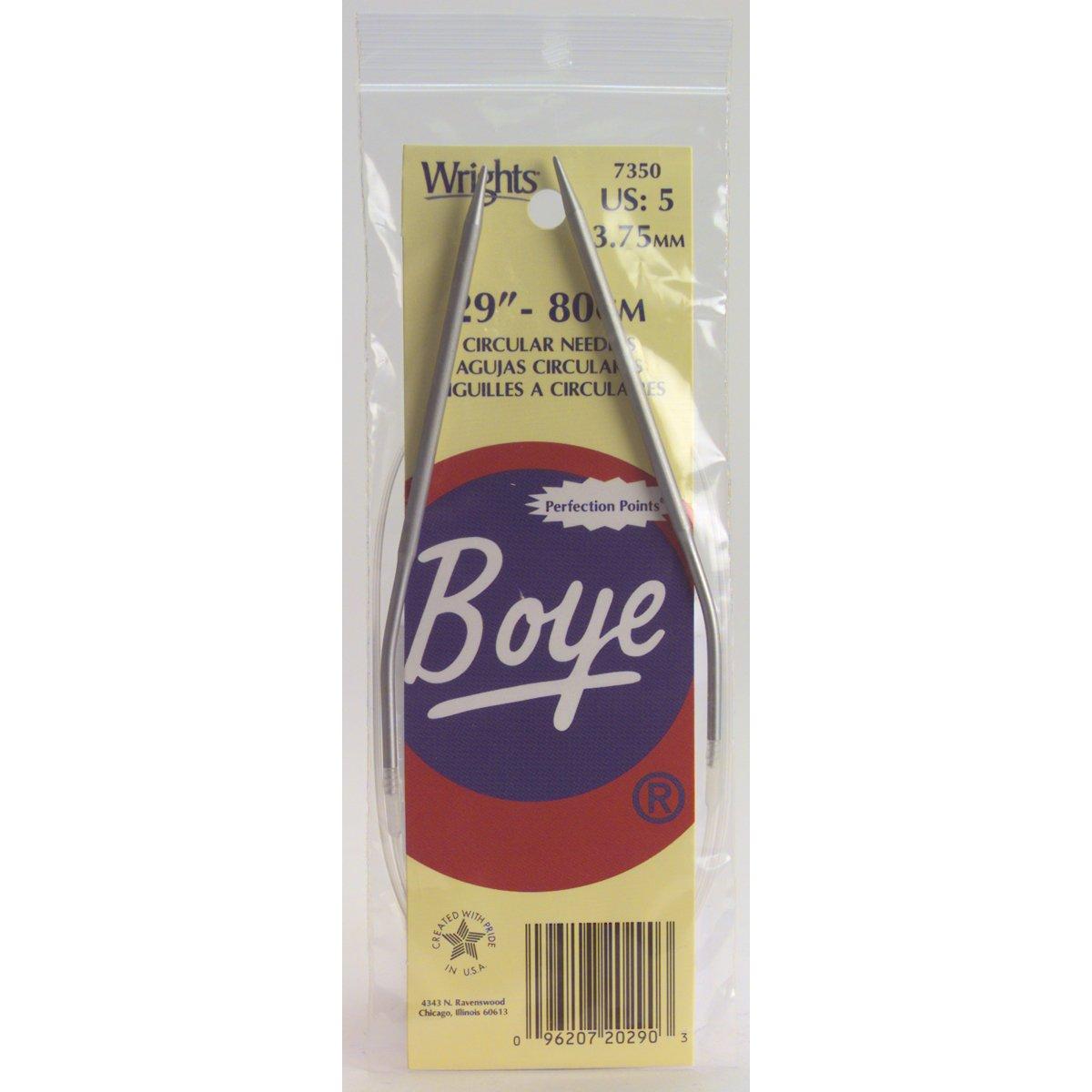 Boye 16-Inch Aluminum Circular Knitting Needles, Size 4 Simplicity Creative Group Inc 3227348004