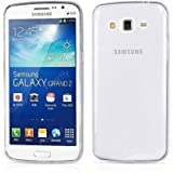 Defender Ultra Thin 0.3mm Clear Transparent Flexible Soft TPU Slim Back Case For Samsung Galaxy Grand 2 G7106