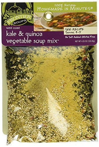 Frontier Soups Homemade In Minutes West Coast Kale & Quinoa Vegetable Soup Mix -- 4.25 oz by Frontier - Colorado Stores In Mills