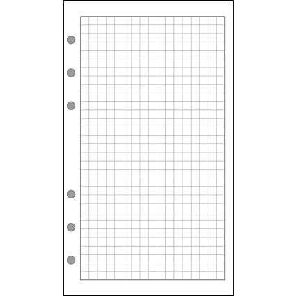Exacompta 28111 para compresas cuadrícula de 5 x 5 para ...