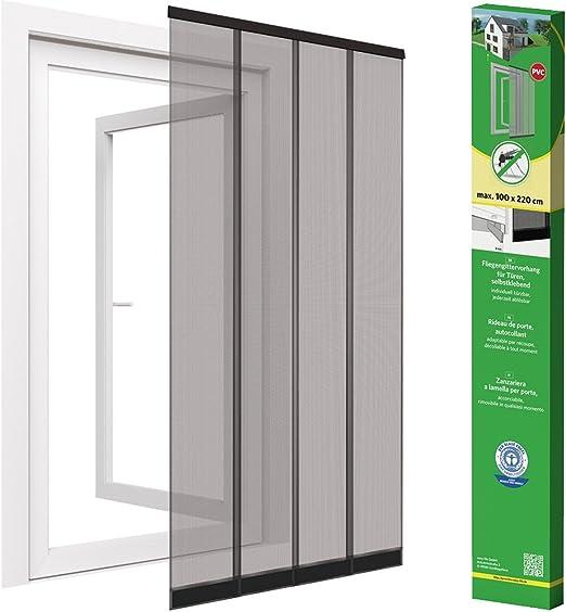 Easy Life Mosquitera Premium de láminas para puertas de fibra de ...