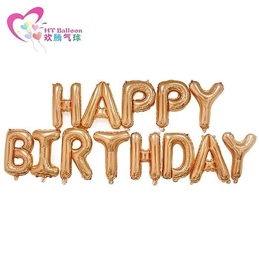 Fiesta de cumpleaños con globos de cumpleaños para niños con ...