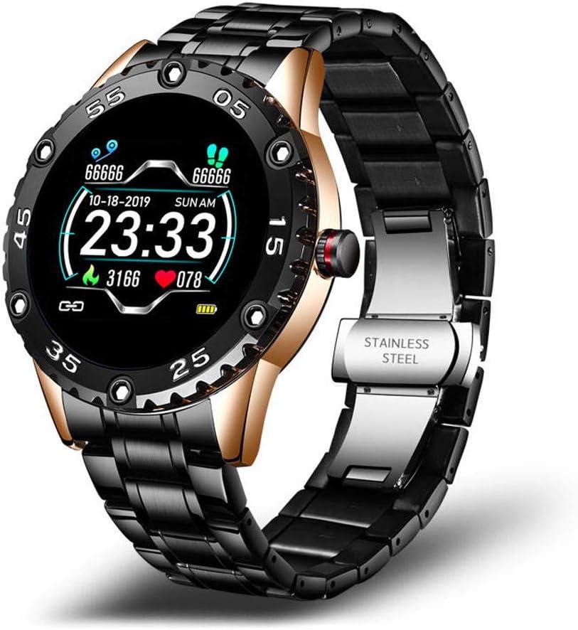 NUNGBE - Reloj inteligente para hombre, IP68, impermeable, reloj deportivo, recordatorio de llamada, reloj despertador de frecuencia cardíaca