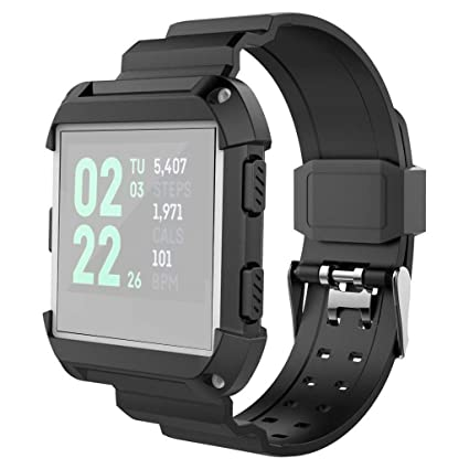 Laicai - Correa de Silicona para Reloj Inteligente Fitbit Ionic ...