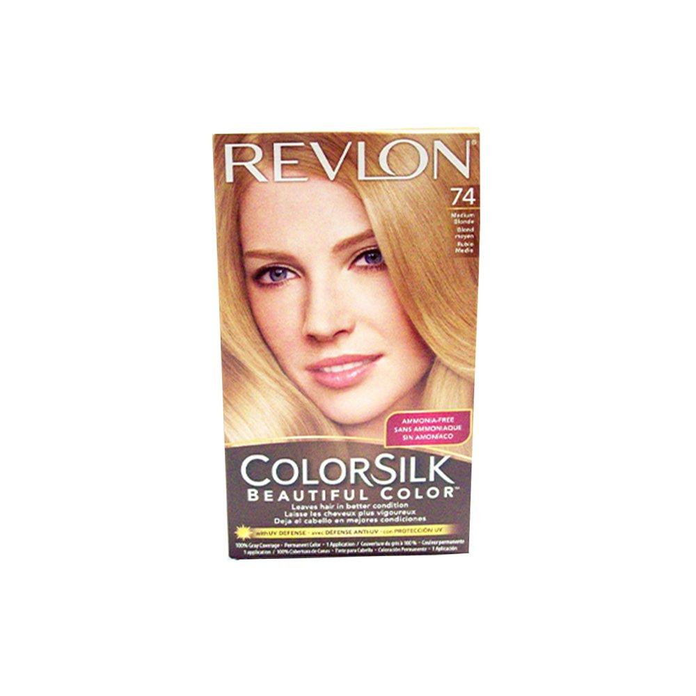 Revlon Hair Color Medium Blonde(74) 695745