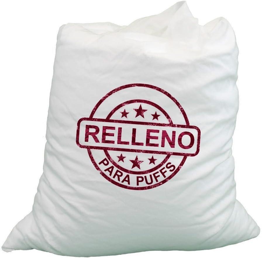 HAPPERS Relleno Puff - Relleno para Puff, 330 litros de Perlas de poliestireno (Bolas) Ignífugas, Bolitas de poliespan