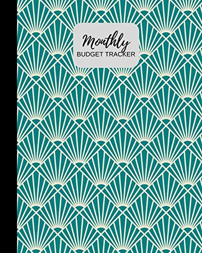 Monthly Budget Tracker: Personal Income & Expense Notebook Organizer | Includes Savings Goals, Fixed & Other Expenses, Monthly & Yearly Calendar Planning | 8x10 Inches (Budgeting)