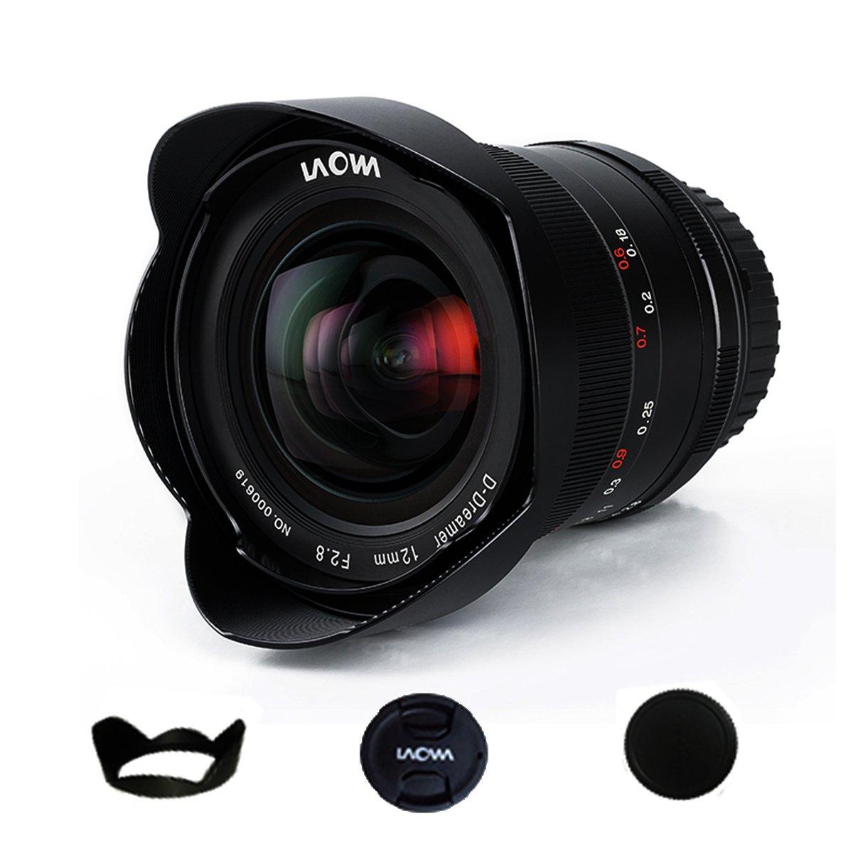 Venus Laowa 12mm f/2.8 Zero-D Ultra-WideAngle for Nikon AI Mount Cameras D850 D810 D5 D610 D750 D4S D810A D4 D700 D5 Laowa12mmF2.8