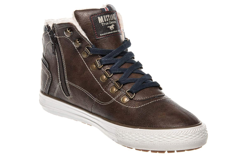 Mustang scarpe scarpe, Scarpe da Skateboard Uomo Marronee Marronee Marronee Marronee Medio B07GQGJRLZ Parent | Prestazione eccellente  | riparazione  | Ordine economico  | Grande Varietà  | Qualità Stabile  | Ben Noto Per Le Sue Belle Qualità  4424a5