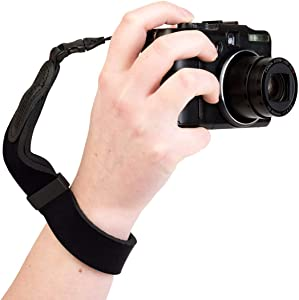 OP/TECH USA Mirrorless Neoprene Camera Wrist Strap (Black)