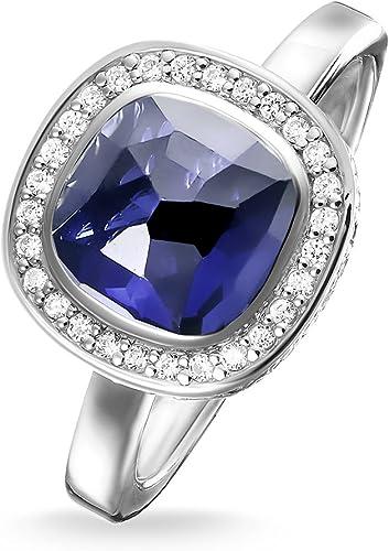 Thomas Sabo Ring Cosmo dunkelblau TR2029-050-1