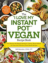 The cookbook that makes using your Instant Pot easier than ever!This is the must-have plant-based cookbook for the must-have appliance—the Instant Pot!A vegan, plant-based diet is healthy, nutritious, and environmentally friendly. Now, it's e...
