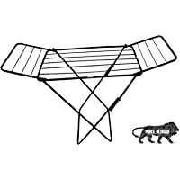 blo Iron X-Leg Clothes Drying Rack, Black