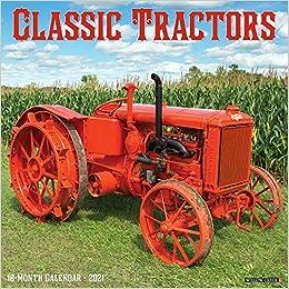 Trevor Mitchell Vintage Tractors 2021 Calendar by Carousel Calendars 210621