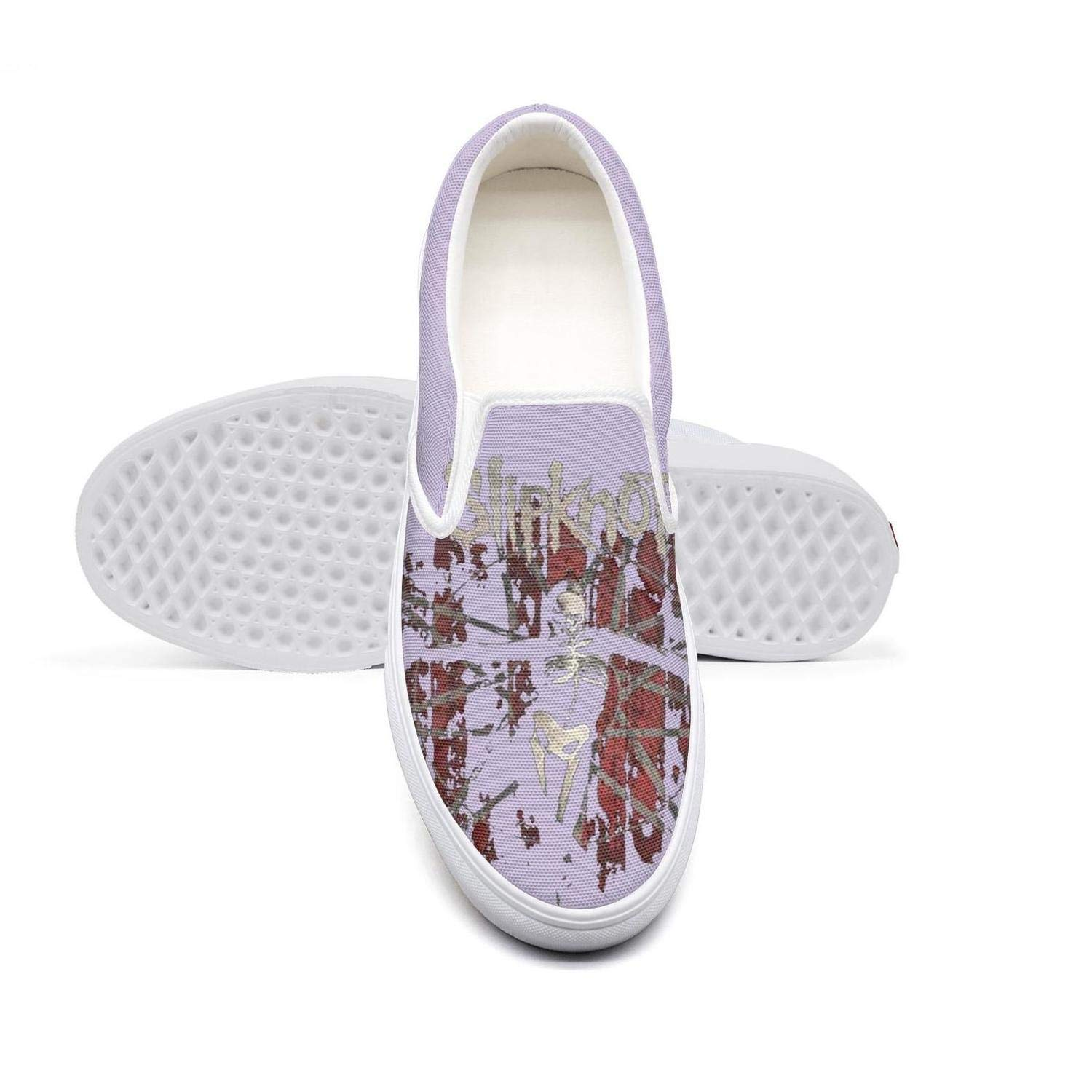 NI kingss Womens Slip on Loafer Casual Shoes Sneakers Print Boat Skate Shoe