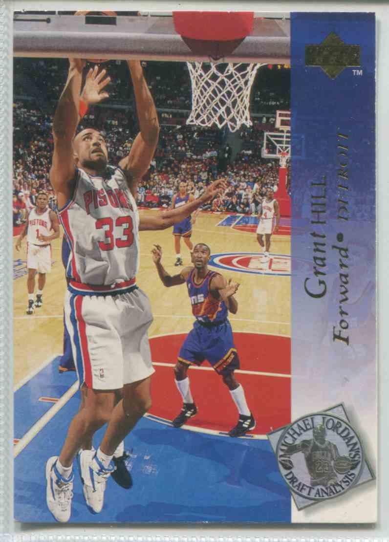 1995 Upper Deck Grant Hill 183 Michael Jordans Draft