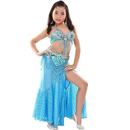 Calcifer - Disfraz de Danza del Vientre para niños (3 Piezas ...