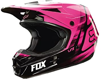 Fox Racing Vandal V1 - Casco de motocross para hombre, color rosa, talla XXL